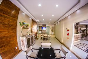 The fitness center and/or fitness facilities at Hotel Recanto Do Rouxinol