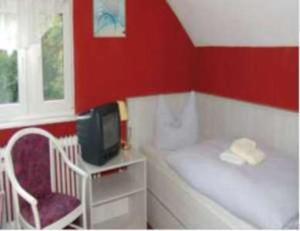 TV/Unterhaltungsangebot in der Unterkunft Hotel & Restaurant Märkische Schweiz
