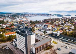 A bird's-eye view of Stord Hotel