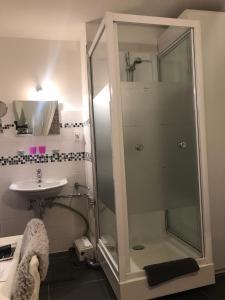 A bathroom at Stadthostel Nordstern
