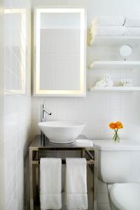 A bathroom at Hudson New York
