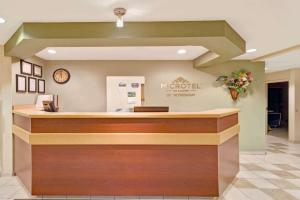 The lobby or reception area at Microtel Inn & Suites by Wyndham Jasper