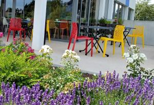 Children's play area at Ibis Budget Chalon Sur Saone Nord