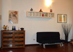 A seating area at Appartamenti Ponte Vecchio
