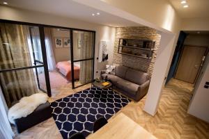 Χώρος καθιστικού στο Thess Cozy Living
