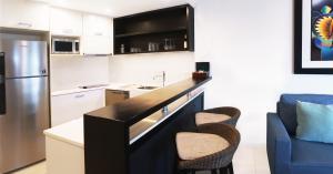 A kitchen or kitchenette at Radisson Blu Resort Fiji