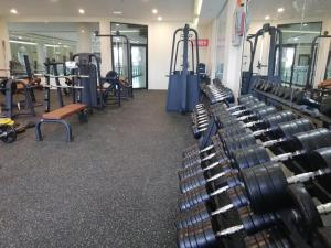 The fitness center and/or fitness facilities at Wafa Hotel & Apartment