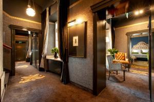 The lobby or reception area at Balthazar Design Hotel
