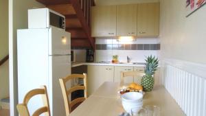 A kitchen or kitchenette at VVF Villages « Les Bords du Lac » Éguzon