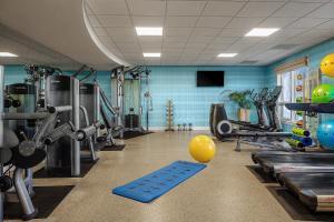 The fitness center and/or fitness facilities at Hyatt Residence Club Sarasota, Siesta Key Beach
