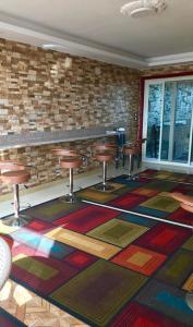 مطعم أو مكان آخر لتناول الطعام في 3 Pyramids View Inn