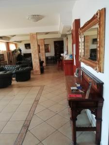 Hall o reception di Hotel Vico Alto