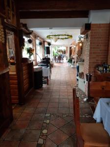 Lobby alebo recepcia v ubytovaní Sabbia Ristorante - Reštaurácia a Ubytovanie Prievidza