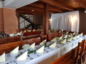 Reštaurácia alebo iné gastronomické zariadenie v ubytovaní Sabbia Ristorante - Reštaurácia a Ubytovanie Prievidza