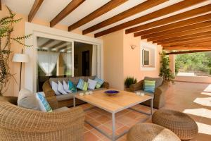 A seating area at Villa Can Cunsey