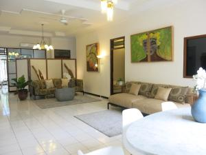 A seating area at White Bungalow