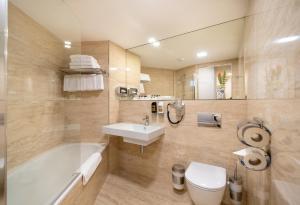Łazienka w obiekcie Grandium Hotel Prague