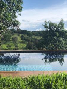A piscina localizada em Villa Domaso ou nos arredores