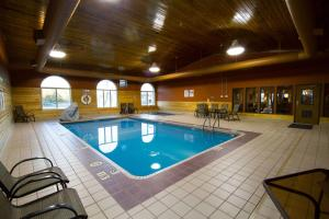The swimming pool at or near Miles City Hotel & Suites