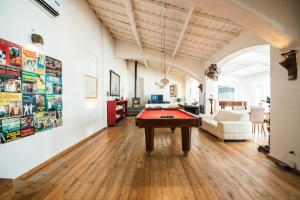 A pool table at Imani Country House