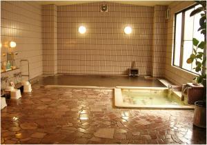 A bathroom at Hotel Yume-no-yu