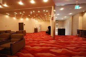 The lobby or reception area at First Cube Yamaguchi