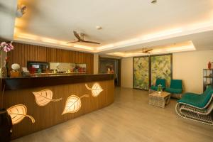The lobby or reception area at Boracay Haven Resort