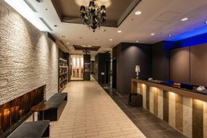 The lobby or reception area at Hotel Vista Sapporo Odori