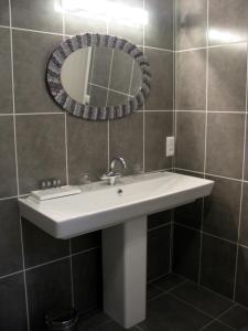 Salle de bains dans l'établissement Chambres d'hôtes Au Coeur de Die
