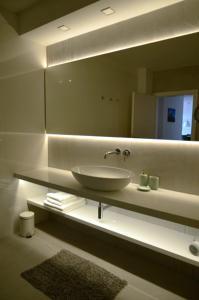 Kúpeľňa v ubytovaní Panoráma Bojnice