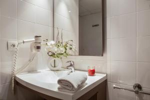 Salle de bains dans l'établissement Appart'City Marseille Euromed