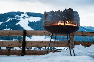 Hotel Mareo Dolomites during the winter