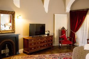 A television and/or entertainment center at Markree Castle