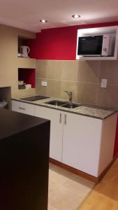 A kitchen or kitchenette at Los Perales