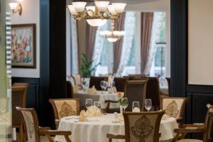 Ресторант или друго място за хранене в Мантар Спа Хотел