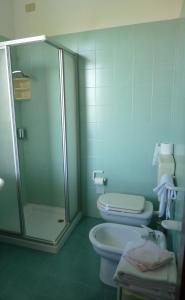 Koupelna v ubytování Hotel Firenze
