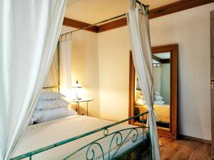 Posteľ alebo postele v izbe v ubytovaní Apartman Vila Terrasse 2