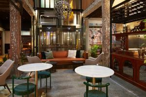 The lounge or bar area at Ovolo 1888 Darling Harbour