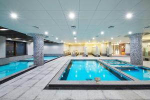 The swimming pool at or near Pyeongchang Ramada Hotel & Suite by Wyndham