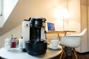 Coffee and tea-making facilities at Gast - und Kulturhaus Der Teufelhof Basel