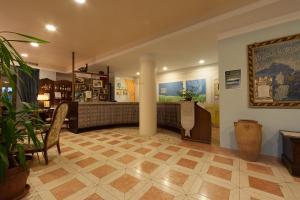 Hall o reception di Albergo La Primula