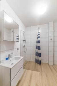 Łazienka w obiekcie Papaj Resort
