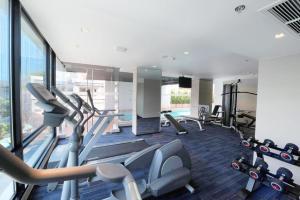 The fitness center and/or fitness facilities at Vic3 Bangkok