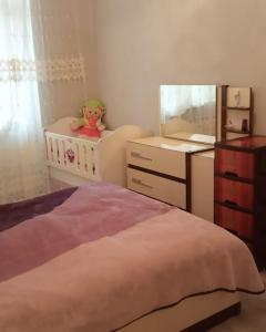 Cama ou camas em um quarto em BAKU CITY CENTR 2. Bedrooms 2.