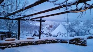 Hostal Rural Casa Pedro en invierno