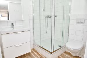 A bathroom at Townhouse Duderstadt