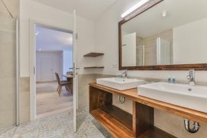 Koupelna v ubytování Lake Resort Pressegger See