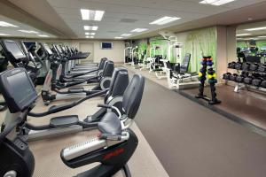 The fitness center and/or fitness facilities at The Westin Lake Las Vegas Resort & Spa