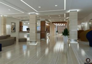The lobby or reception area at Veramar