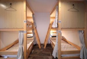 トリップ&スリープ ホステルにある二段ベッド